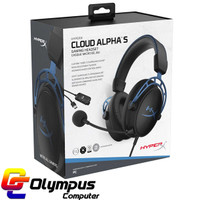 Gaming Headset HyperX Cloud Alpha S with Soundcard