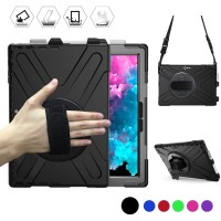 Microsoft surface pro 7 6 5 4 Armor case stand hard cover strap rugged