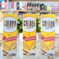 LIQUID GOLDEN LAYERS - Milky Vanilla Cookies By Trilogy 60ML 3mg 6mg