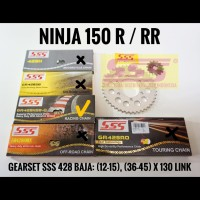 GIRSET SSS / NINJA 150 R / NINJA 150 RR / BAJA 428 RANTAI 130 HSBT