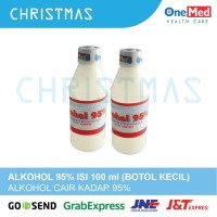 ALKOHOL CAIR 95% ONEMED ISI 100 ML BAHAN HAND SANITIZER