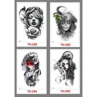 Tattoo/Tattoo temporary/Tattoo Temporer/Tatto 21x15cm TH 010014