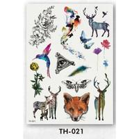 Tattoo/Tattoo temporary/Tattoo Temporer/Tatto 21x15cm TH 000004