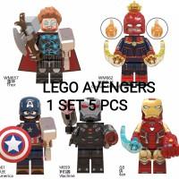 Mainan Lego Anak Seri Avengers Harga 1 set Lengkap