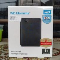 WD Elements 1 TB External Harddisk 2.5 USB 3.0 Baru - Hitam