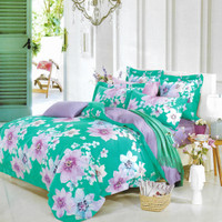 Osaka Set Sprei dan Bed Cover A 12A Sutra Tencel Poly - Single Size