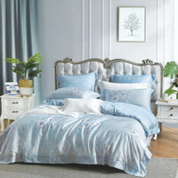 Osaka Set Sprei dan Bed Cover OCI 80 Organic Cotton - Single Size