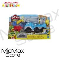 Play Doh Playdoh Wheels Cement Truck Toy Mainan Anak