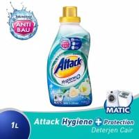 Attack Hygiene + Protection Plus Liquid 1L 1 L Sabun Cair Detergent