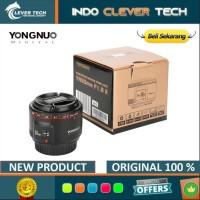Lensa Yongnuo 50mm F1.8 Mark II YN 50 F1.8 II For Canon