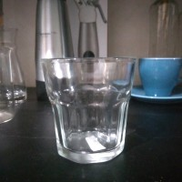 Gelas Old Fashion / Coffee Glass untuk vietnam drip / Gelas Cafe Bar