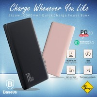 Power Bank Fast Charging Baseus Powerbank QC 3.0 PD 3.0 18W 10000mAh