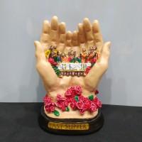 pajangan Perjamuan Kudus Tangan / perjamuan tangan
