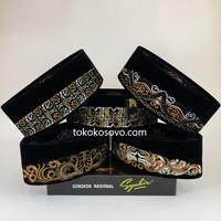 Peci Songkok Kopiah BORDIR Ultra Premium SYAKIR AC Tinggi 9