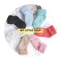 Kaos Kaki Winter Anak Bayi Balita Tebal Winter Socks Thermal Wool