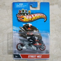 Hotwheels Motor Cycles Street Noz With Removable Real Rider Very Rare