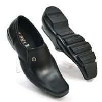 Sepatu Pantofel Pria Kulit Asli Formal Comfort Slim Premium M2081
