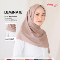 Hijab jilbab segi empat kerudung polos syar'i wide glamor by dafanya