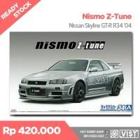 Aoshima 1/24 Nismo Nissan Skyline GT-R Z-Tune R34