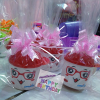 Mug topi Trixy /Trixy mug /Gelas Trixy souvenir ulang tahun anak