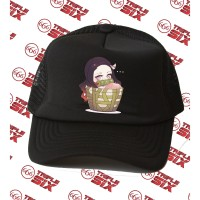 Topi Trucker Anime Nezuko Basket Chibi Kimetsu no yaiba demon slayer