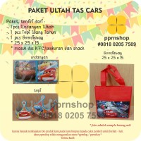 PAKET CARS TAS ULTAH/GOODIEBAG ULTAH/BINGKISAN ULTAH/ BIRTHDAY PARTY