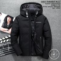 Jaket Parasut Pria / Jaket Hoodie Kembung BGSR / Jaket Musim Dingin
