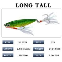 1Pcs New Metal Lead Jig Umpan Pancing 10gr Fishing Lure Ikan