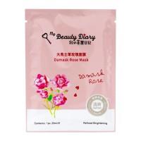 My Beauty Diary - Damask Rose Mask - Single Piece - Masker Topeng