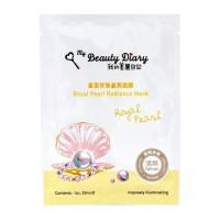 My Beauty Diary - Royal Pearl Radiance Mask - Single Piece - Masker