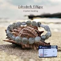 Gelang Crystal Healing Labradorite Feldspar (GBP212)