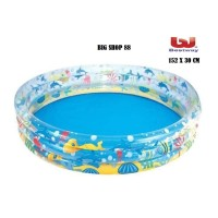 KOLAM RENANG ANAK WITH 3 RING POOL ORI BESTWAY NEW