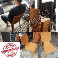 kursi makan / kursi rotan / kursi sandar / kursi plastik