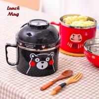 Lunch Mug -Rantang Bentuk Gelas