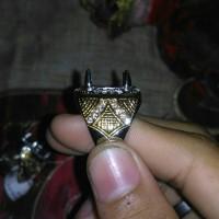 Gagang Cincin Pria Titanium Murah-001