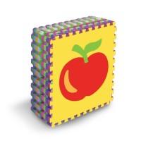 IMAGE TOYS edumat karpet matras evamat puzzle tikar Fruits Series[8Lbr