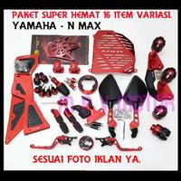 Promo Paket Termurah Yamaha Nmax 16 Item Accesories Motor Diskon