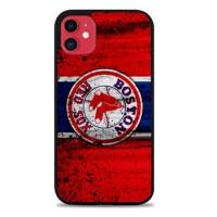 Hardcase Casing iPhone 11 Boston Red Sox Grunge Baseball Clu