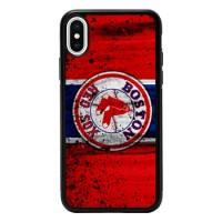 Hardcase Casing iPhone XR Boston Red Sox Grunge Baseball Clu