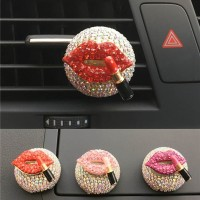 1Pc Parfum Penyegar Udara Model Klip Handmade untuk Dekorasi Mobil
