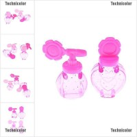 Tcid 1Set/2 Pieces Girls Cosmetics Toys Perfume Makeup Water Bottles
