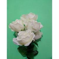 Jual Bunga Mawar Artificial K-6 Hias Impor murah Diskon