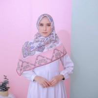 Premium Hijab Printing Kode Ottoman Pink