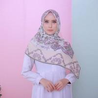 Premium Hijab Printing Kode Ottoman Cream