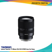 Lensa Tamron 17-28mm f2.8 Di III RXD lens for Sony FE mount