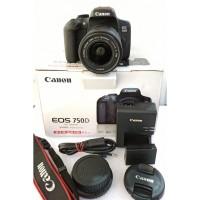 Camera Kamera DSLR canon 750D kit 18-55mm STM