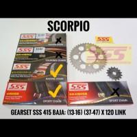 GIRSET SCORPIO SSS BAJA 415 RANTAI SSS 120 HSBT