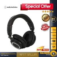 Audio Technica ATH-M50XBT Wireless Over-Ear Headphones -RESMI