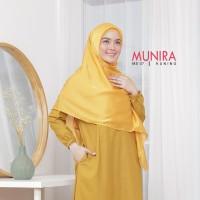 Jilbab segiempat MS 07 Ori Munira - Jilbab segiempat satin polos Reg