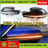 LAMPU LED SPION HONDA CIVIC TURBO DRL + SEIN Sequential Welcome Light